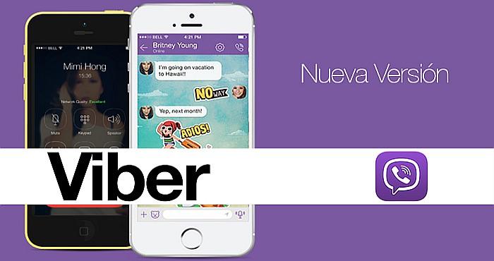 Descarga Viber Messenger versión 7.8.1.1 APK con tres novedosas características